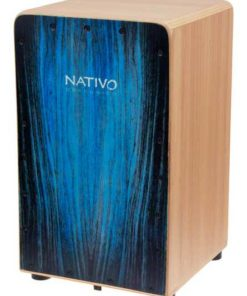 Cajón Nativo Percusion Inicia Blue
