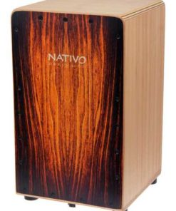 Cajón Nativo Percusion Inicia Brown