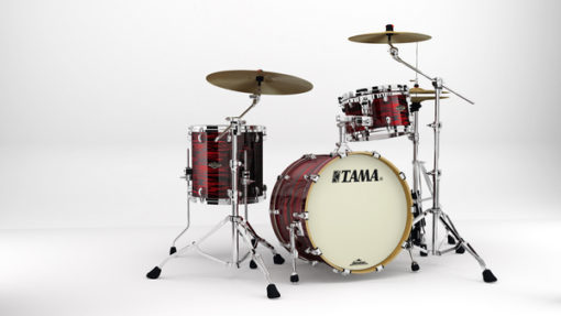 "Batería Tama Starclassic Walnut/Birch Duracover 3pc - 22"" (Red Oyster)"