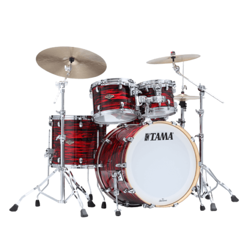 "Batería Tama Starclassic Walnut/Birch Duracover 4pc - 22"" (Red Oyster)"