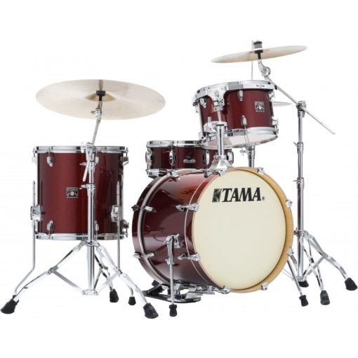 "Batería Tama Superstar Classic Maple Unicolor 4pc - 18"" Jazz (Dark Red Sparkle)"