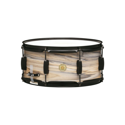 "Snare Drum Tama Woodworks Poplar 14x6,5"" (Natural Zebrawood)"