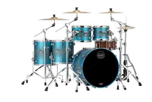 "Batería Mapex Saturn Evolution Studioease 22""-10""-12""-14""-16"" (Exotic Azure Burst)"