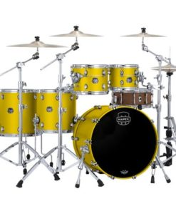 "Batería Mapex Saturn Evolution Studioease 22""-10""-12""-14""-16"" (Satin Tuscam Yellow)"