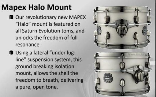 Saturn Evolution Halo mount system