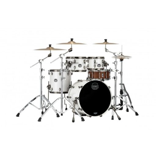 "Batería Mapex Saturn Evolution Fusion 20""-10""-12""-14"" (Polar White)"