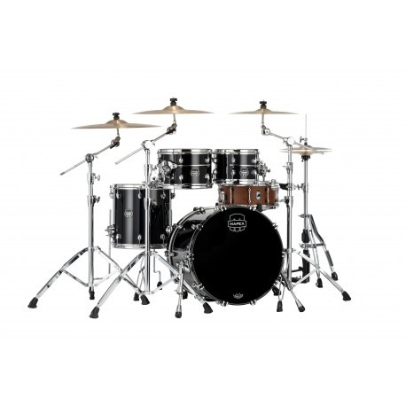 "Batería Mapex Saturn Evolution Fusion 20""-10""-12""-14"" (Piano Black)"
