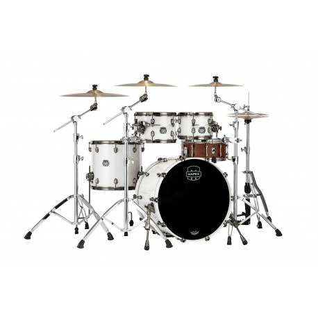 "Batería Mapex Saturn Evolution Rock 22""-10""-12""-16"" (Polar White)"