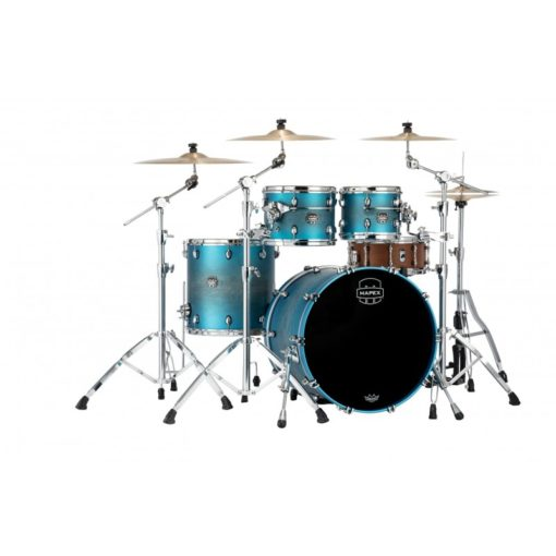 "Batería Mapex Saturn Evolution Rock 22""-10""-12""-16"" (Exotic Azure)"