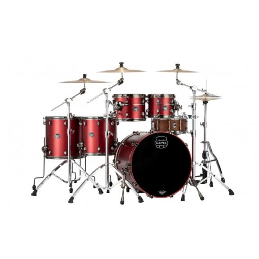 "Batería Mapex Saturn Evolution Workhorse 22""-10""-12""-14""-16"" (Tuscan Red)"