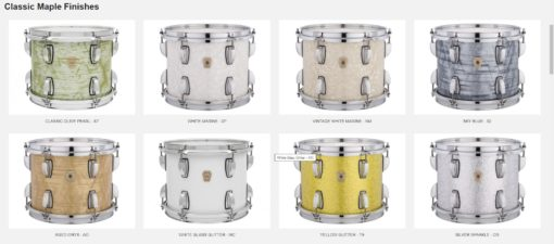 Carta de Colores Ludwig Classic Maple_1