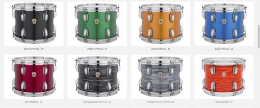 Carta de Colores Ludwig Classic Maple_2