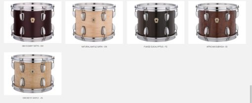 Carta de Colores Ludwig Classic Maple_5