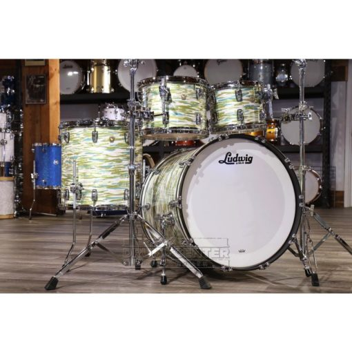 Ludwig Classic blue olive oyster