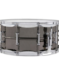 "Snare Drum Ludwig Black Beauty Brass Hand Hammered 14x6,5"" Tube Lugs (LB417KT)"