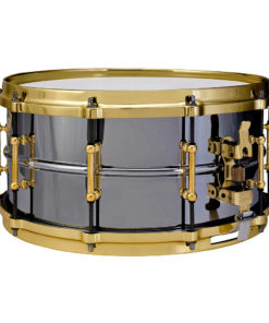 "Snare Drum Ludwig Black Beauty Brass 14x6,5"" Gold HW (LB417BT)"