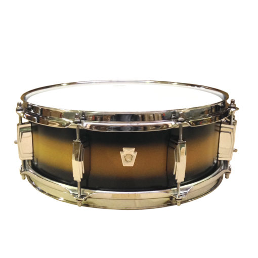 """Snare Drum Ludwig Club Date Snare 14x5"""" - Vintage Black Gold (LS654XXU2)"""
