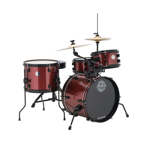 "Batería Ludwig Pocket Kit Red Wine Sparkle 16"" (LC178X)"