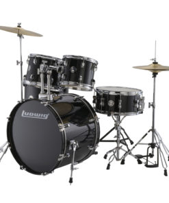 "Batería Ludwig Accent Drive Black Cortex 22"" - full set (LC175)"