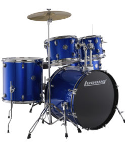 "Batería Ludwig Accent Drive Blue Foil 22"" - full set (LC175)"