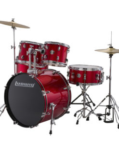 "Batería Ludwig Accent Fuse Red Foil 20"" - full set (LC170)"