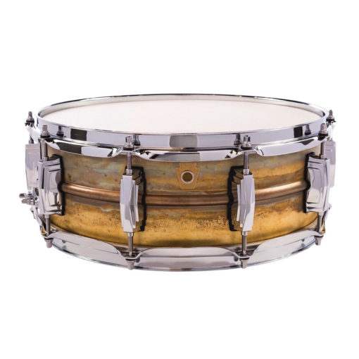 "Snare Drum Ludwig Raw Brass Phonic 14x5"" (LB454R)"