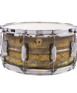 """Snare Drum Ludwig Raw Brass Phonic 14x6,5"""" (LB464R)"""