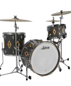 "Batería Ludwig Legacy Classic Mahogany (Flash Diamond finish) 22""-13""-16"""