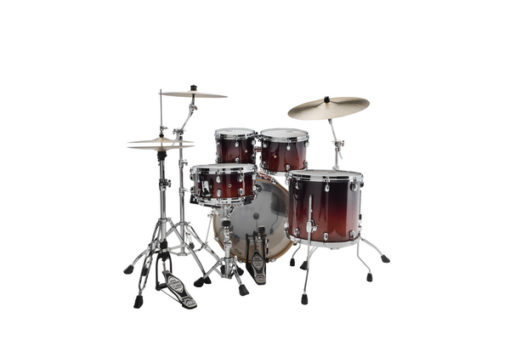 Batería Tama Starclassic Performer Maple/Birch 4pc – 22″ (Dark Cherry Fade)