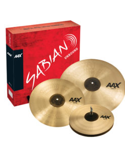 Set Platos Sabian AAX - Promotional Set - Brilliant (25005XCPB)