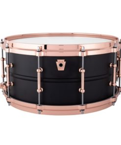 "Snare Drum Ludwig Black Beauty Brass 14x6,5"" Hot Rod - Tube Lugs (LB427TDC)"