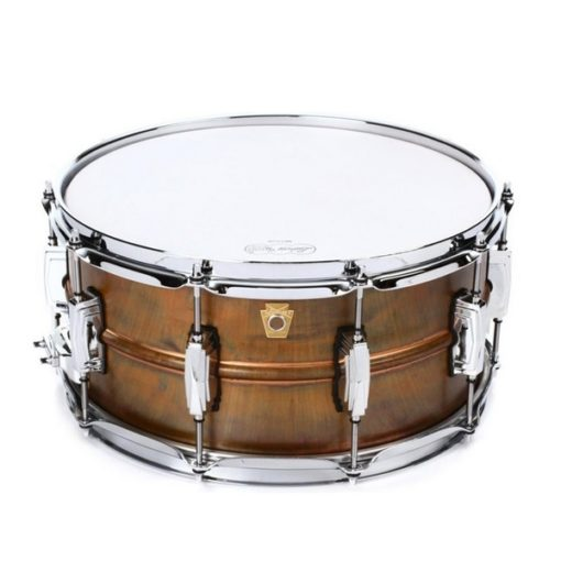 "Snare Drum Ludwig Raw Brass Copperphonic 14x6,5"" (LC663)"